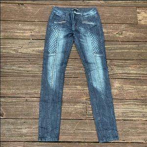 Rue 21 | Super skinny faded Moto jeans Juniors 1/2